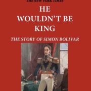 Cover showing Bolivar standing in formal uniform
