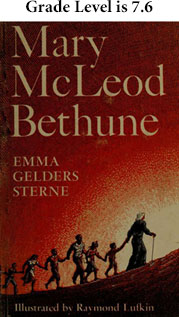 Cover shows Bethune leading children up a hill