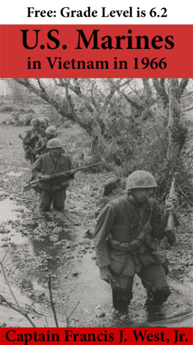 photo of Marines moving through a swamp