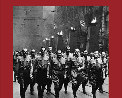 Hitler and colleagues marching