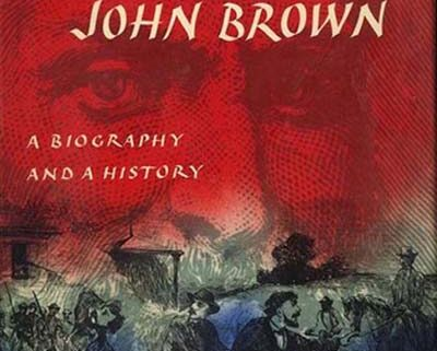 Book Cover with image of John Brown