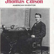 BooK Cover with Photo of Edison Sitting