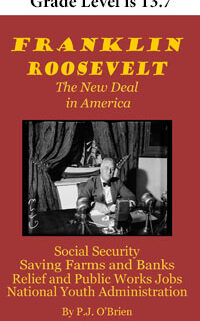 Cover with photo of FDR